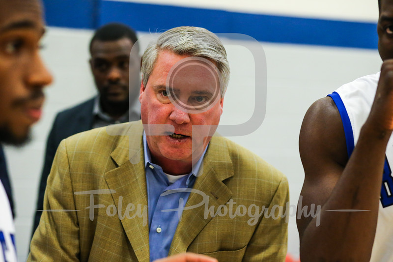 Becker College Hawks head coach Brian Gorman
