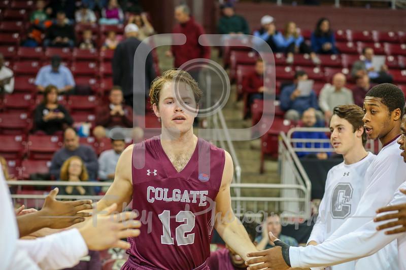 Colgate Raiders center Dana Batt (12)