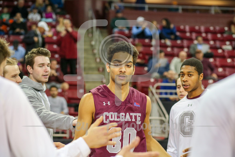 Colgate Raiders guard Francisco Amiel (30)