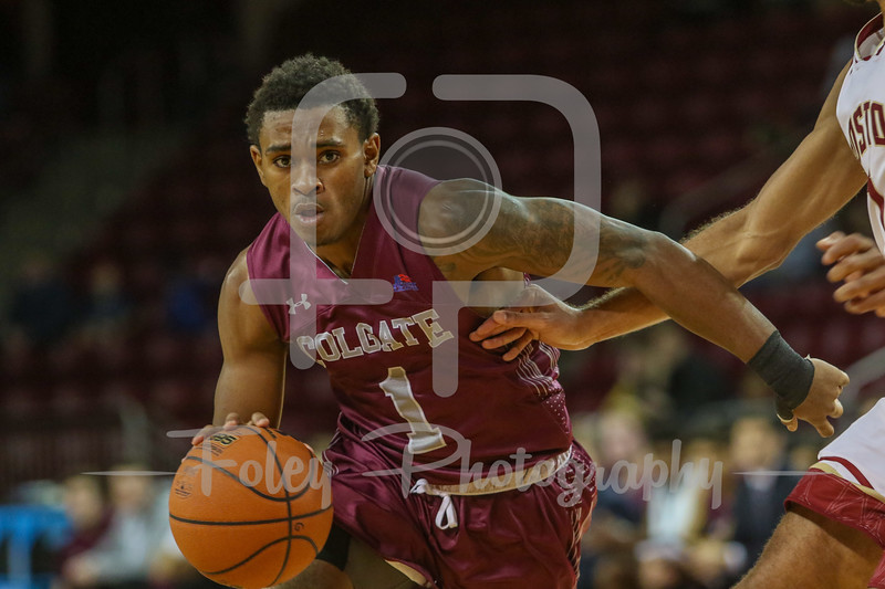 Colgate Raiders guard Jordan Burns (1)