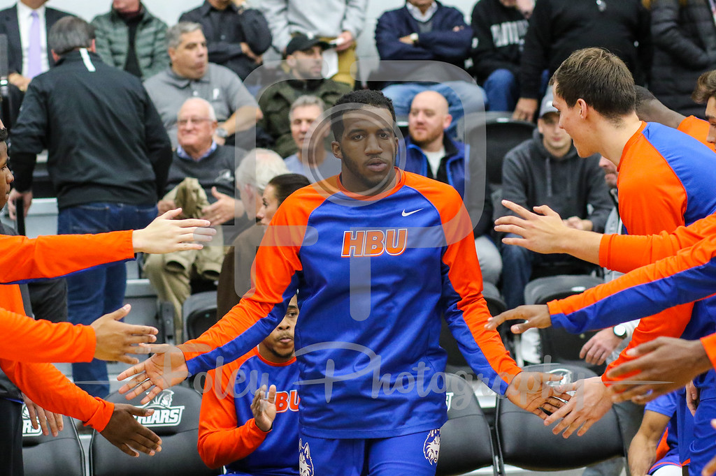 Houston Baptist Huskies guard Ian DuBose (0)