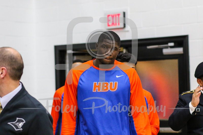 Houston Baptist Huskies forward Tim Myles (12)