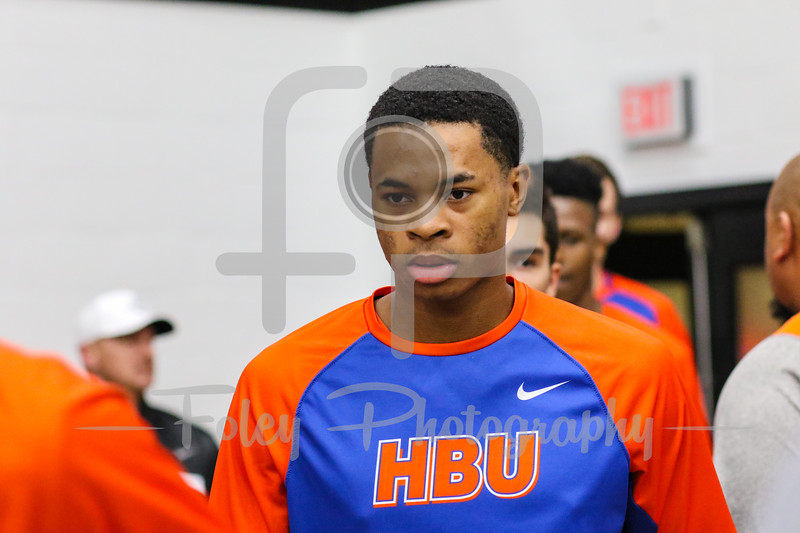 Houston Baptist Huskies guard Stephen O'Suji (4)