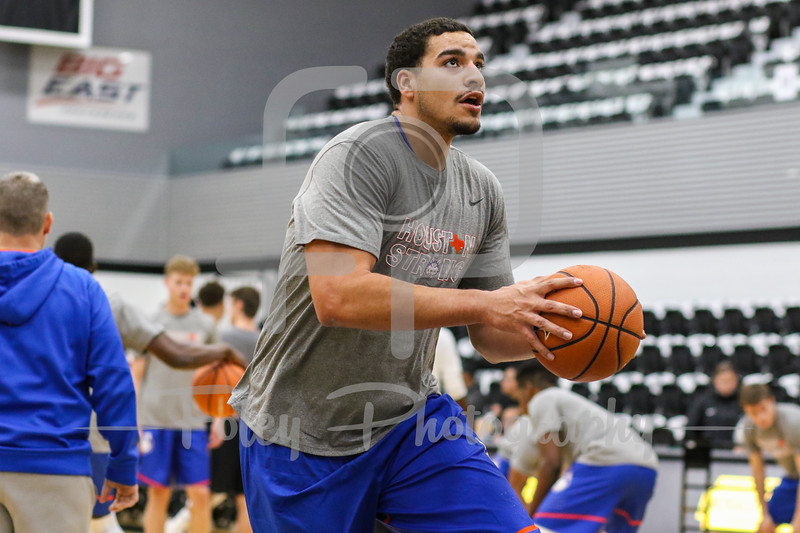 Houston Baptist Huskies center Josh Ibarra (44)