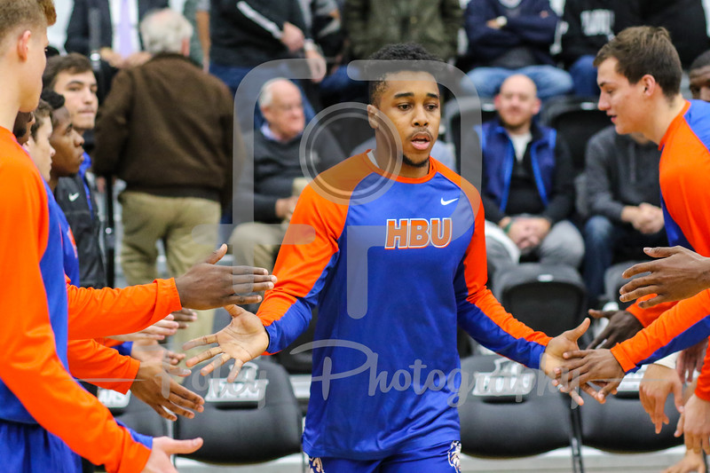 Houston Baptist Huskies guard William Gates Jr. (21)