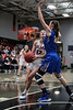 UF's Bridget Landin (13) picks up her dribble and lays in a bucket against UC's Katrina Scheuvront (22).
