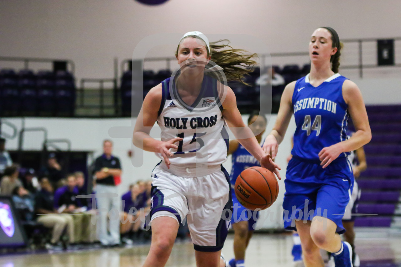 Holy Cross Crusaders Madelyn Ganser (15)