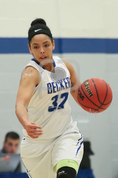 Becker College Hawks forward Adrianna Dowdy (32)