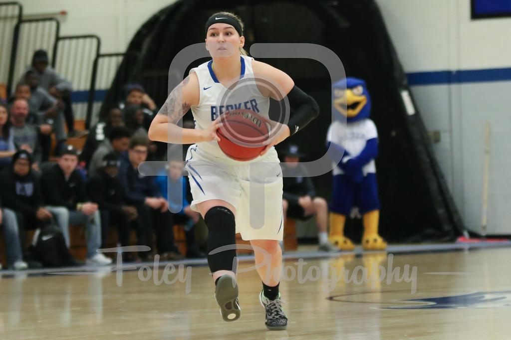 Becker College Hawks guard Mariah Triplett (11)