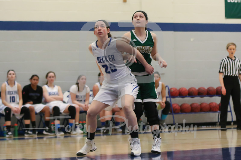 Becker College Hawks Marissa Turner (25)