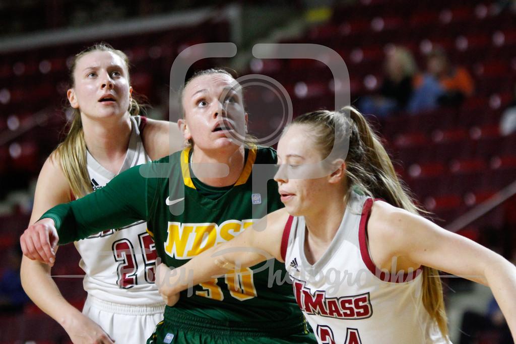 North Dakota State Bison forward Emily Spier (30)