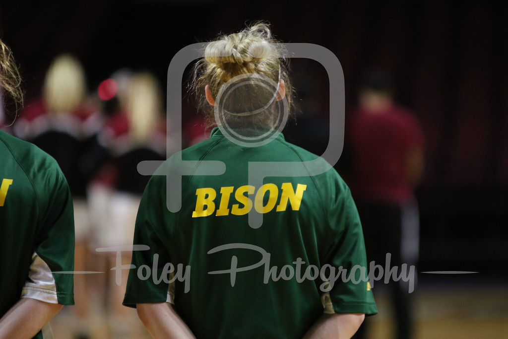 Monday, November 14, 2016; Amherst, Massachusetts;  during the Minutewomen's 70-58 victory over the Bison.
