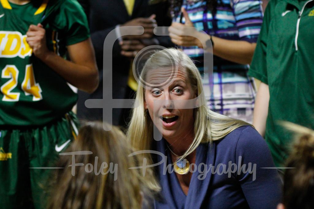 North Dakota State Bison head coach Maren Walseth
