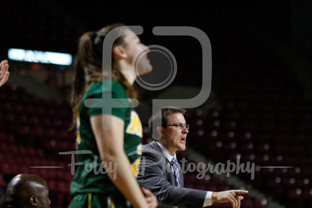 North Dakota State Bison Assistant Coach Keith Dickhudt
