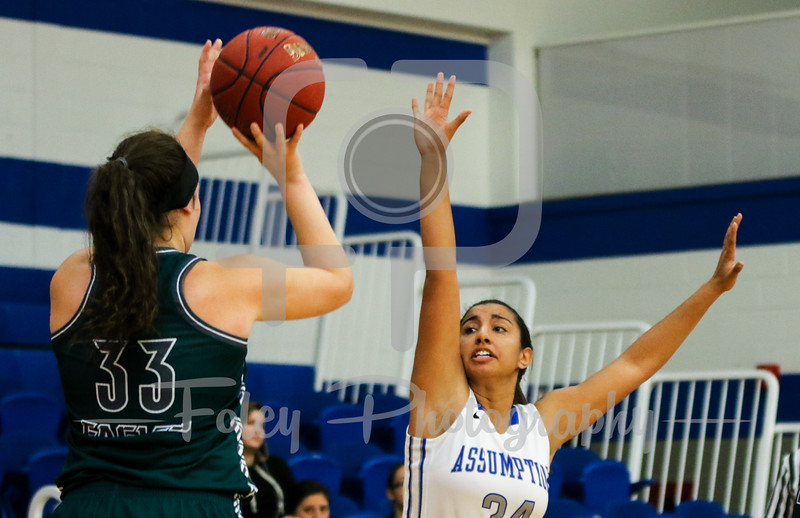 Assumption College forward Kiera O'Donnell (34)