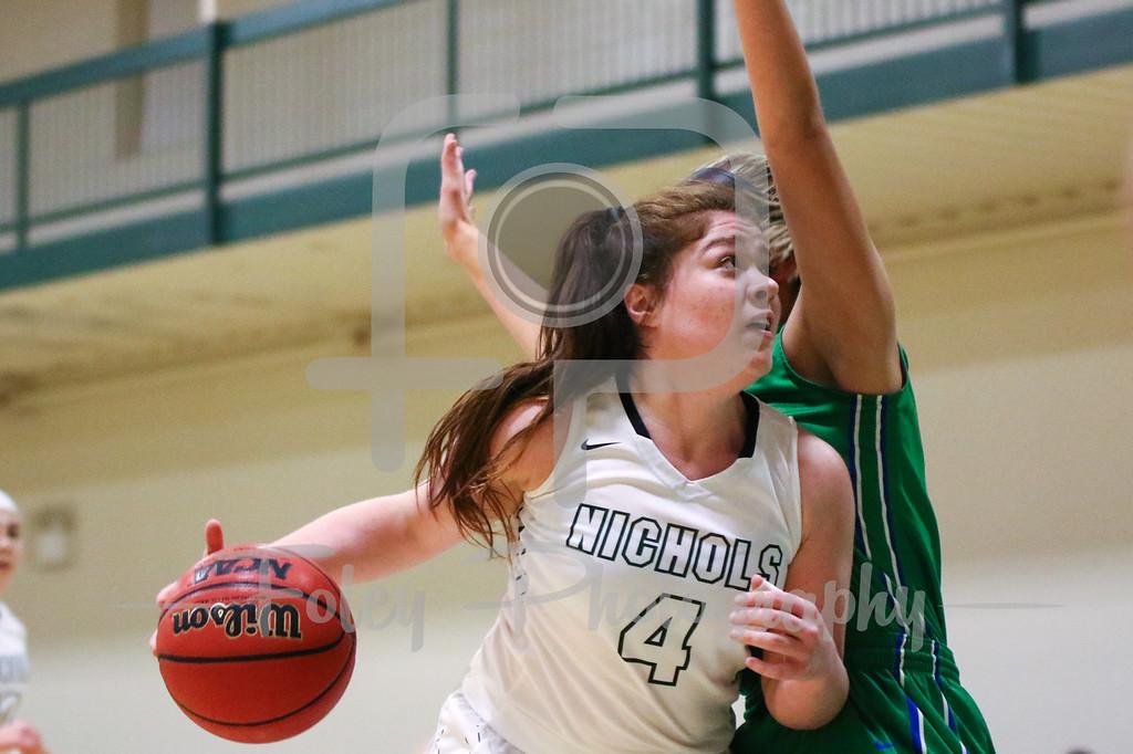 Nichols College forward Allison Cerrato (4)