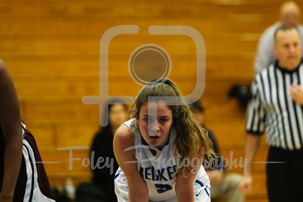 Becker College Hawks guard Katey Anderson (5)