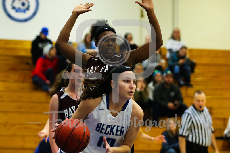 Becker College Hawks guard Avrie Bassingthwaite (10)