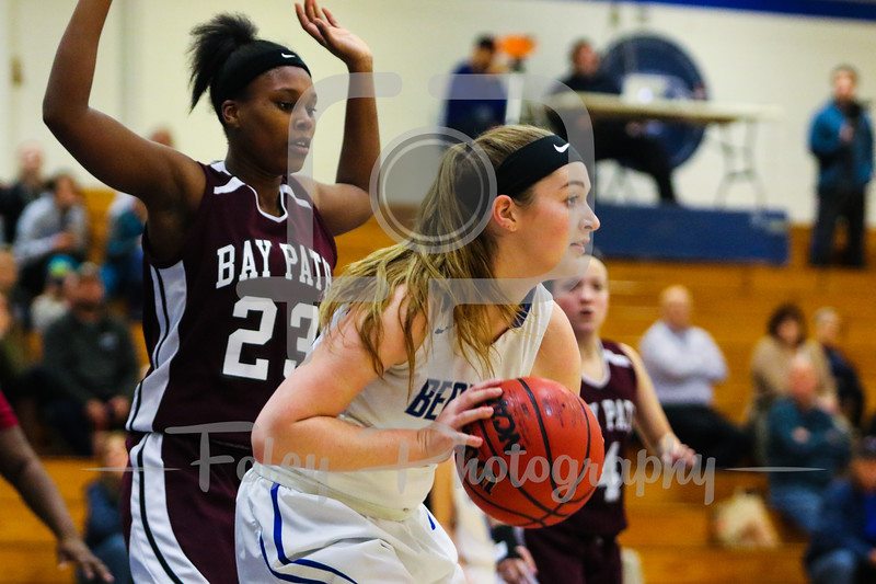 Becker College Hawks forward Julia Campellone (21)