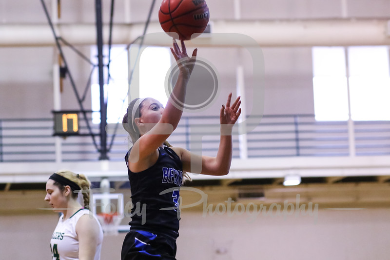 Becker College Hawks guard Cassidy Harrison (3)