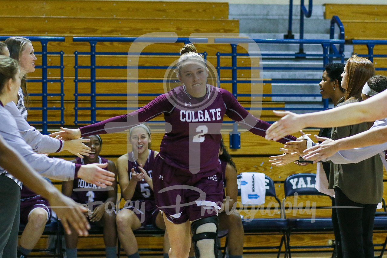 Colgate Raiders guard Tegan Graham (2)