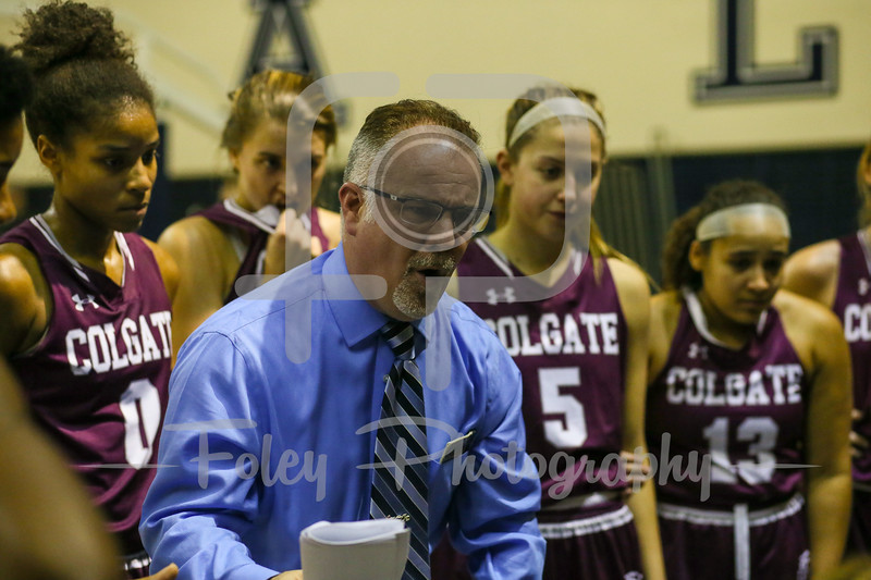 Colgate Raiders head coach Bill Cleary
