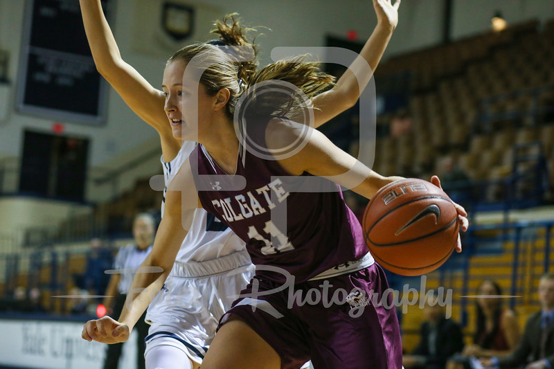 Colgate Raiders guard Kateri Stone (11)