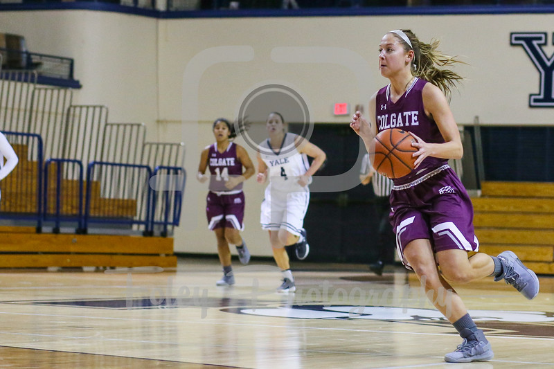Colgate Raiders guard Chelsey Koren (5)