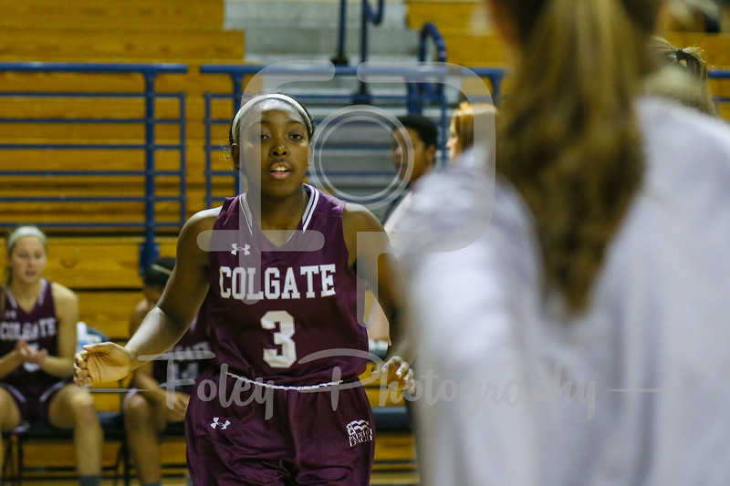 Colgate Raiders guard Nia Ahart (3)