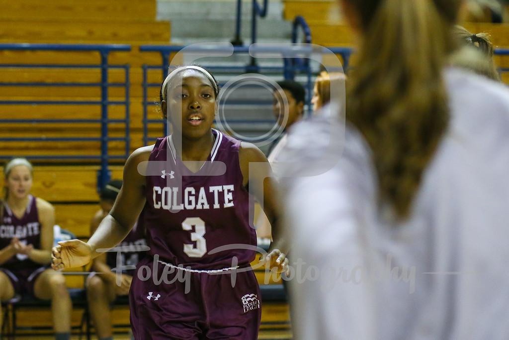 Colgate Raiders guard Nia Ahart (3)