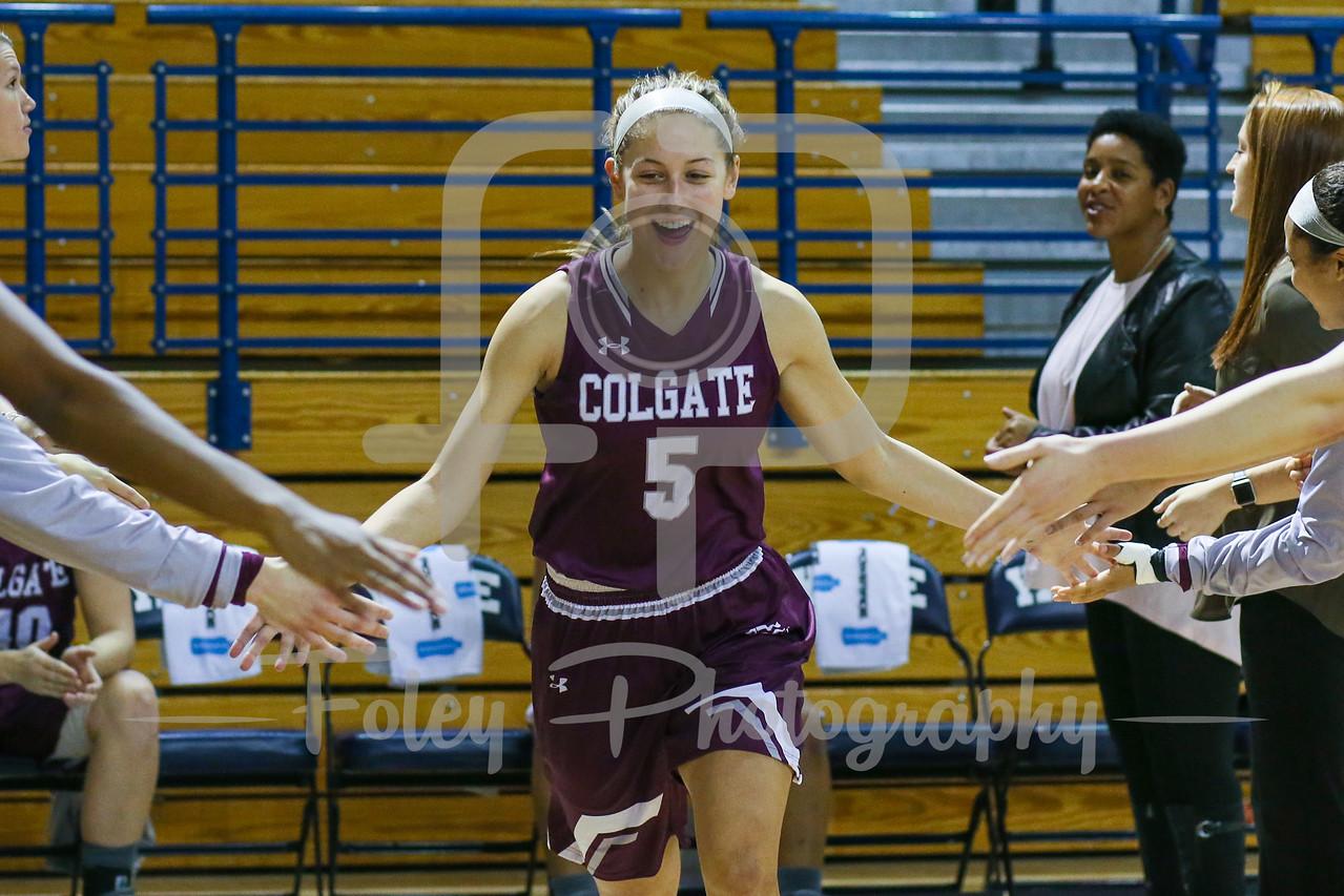 Colgate Raiders guard Chelsey Koren (5)