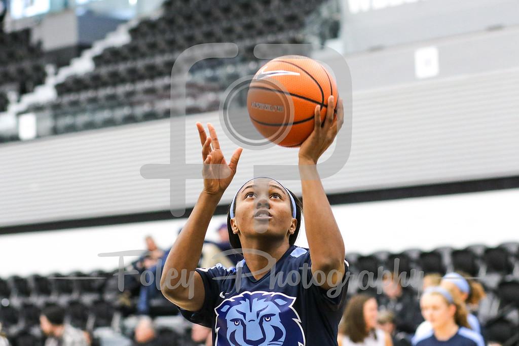 Columbia Lions guard Maya Sampleton (22)