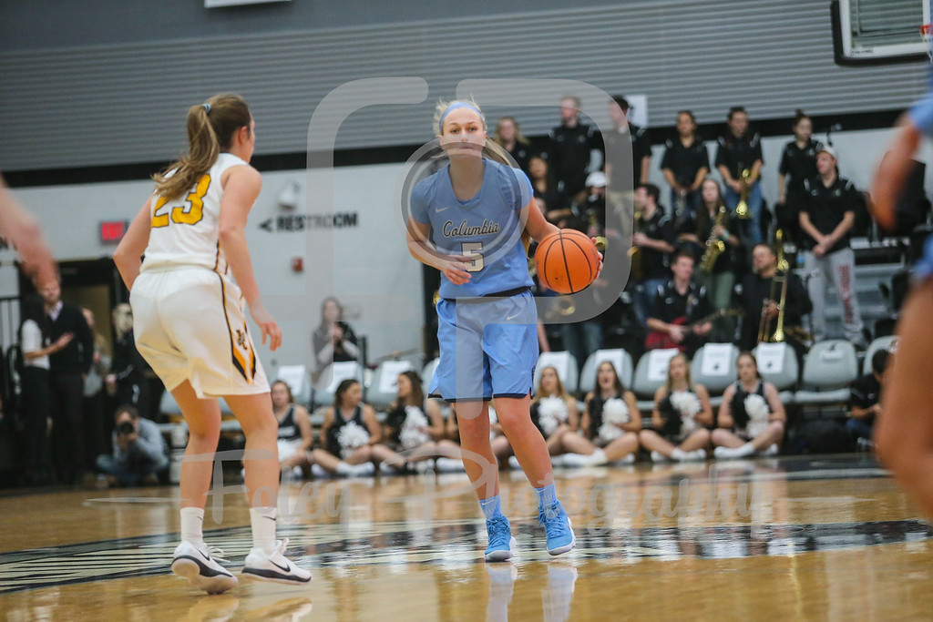 Columbia Lions guard Riley Casey (5)