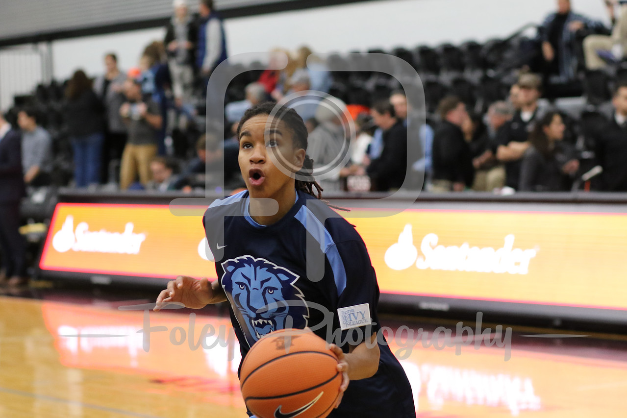 Columbia Lions guard Janiya Clemmons (1)