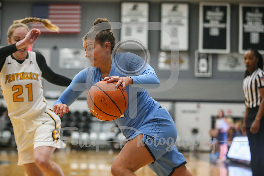 Columbia Lions guard Paige Tippet (4)