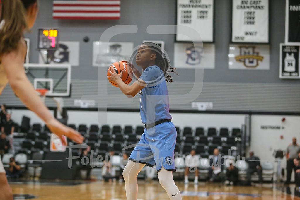 Columbia Lions guard Janiya Clemmons (1)