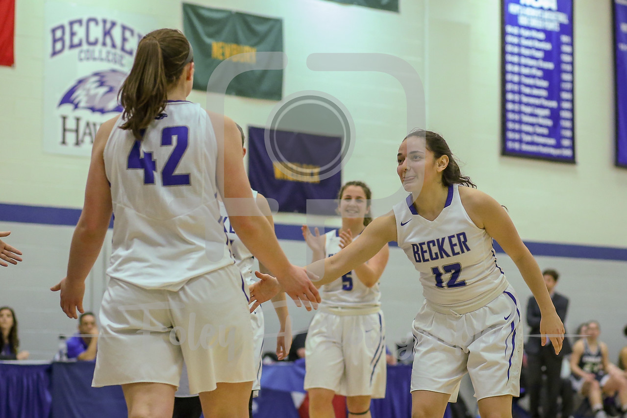 NECC Playoffs: Lesley at Becker