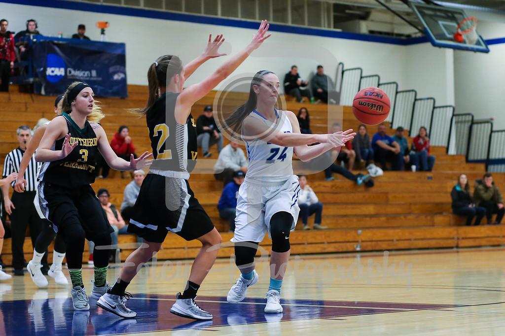 Becker College Hawks forward Ciara McKissick (24)