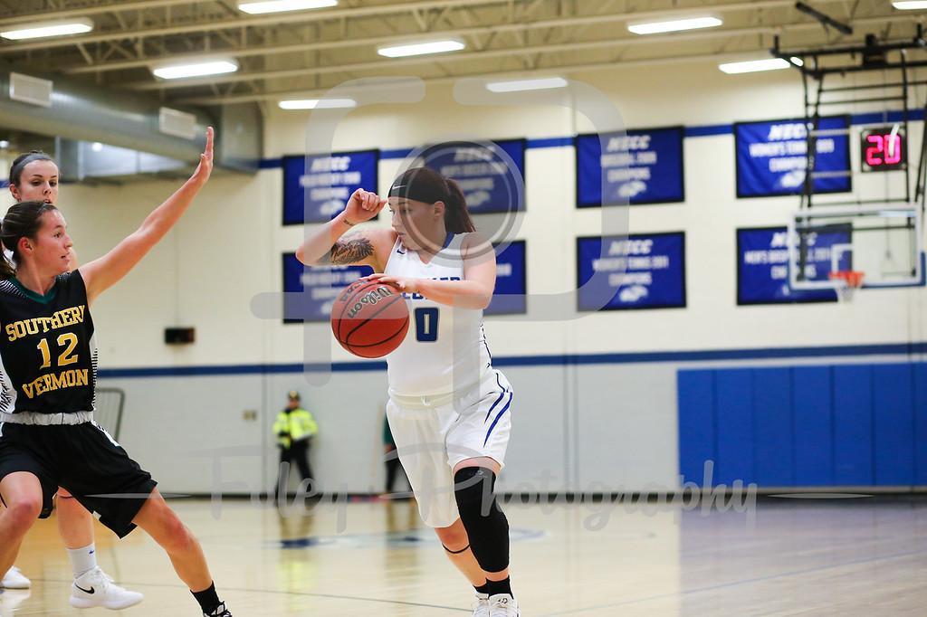 Becker College Hawks guard Mariah Triplett (0)