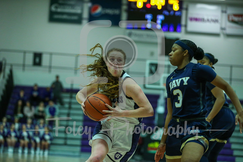 Navy and Holy Cross