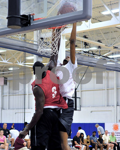 CJ Aiken makes no mistake with this jam against Curtis Sumpter