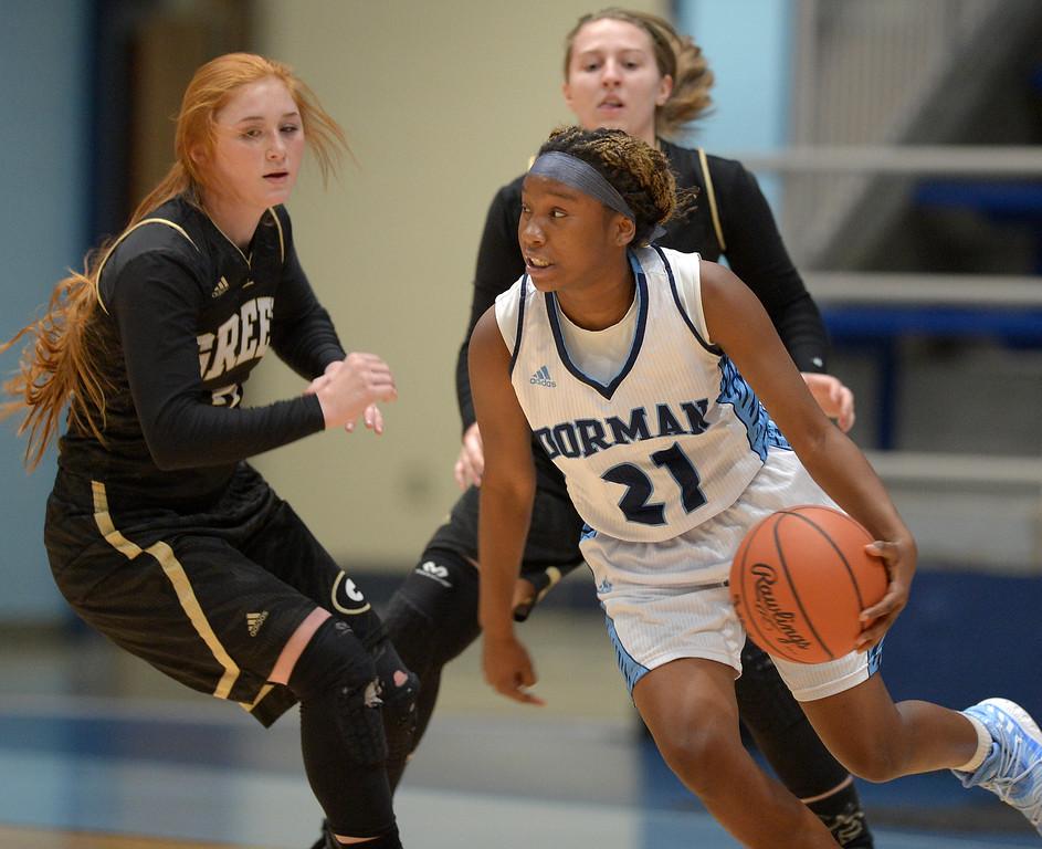 Dorman vs Greer Basketball