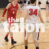 The Eagles play against Melissa at The Colony Highschool in The Colony, Texas, on February 23, 2018. (Quinn Calendine / The Talon News)