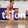The Eagles play against Sanger at Sanger Highschool in Sanger, Texas, on January 19, 2018. (Quinn Calendine / The Talon News)