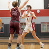 The Eagles take the win against Bridgeport at Argyle High School on January 22, 2021.  (Nicholas West | The Talon News)