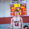 The Eagles defeat Bridgeport at Argyle High School on 2-14-20 (Alex Daggett | The Talon News)