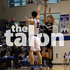 Eagles vs Decatur, on Friday the 13th Decatur High School on 1/13/17 in Decatur, Texas. (Quinn Calendine)