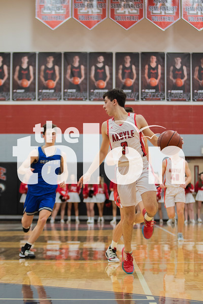 The Eagles fall to Decatur at Argyle high school on February 11, 2020. (Katie Ray <br /> | The Talon News)