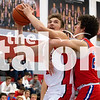 The Eagles defeat Graham with a final score of  48-39 on Jan. 4, 2019. (Campbell Wilmot/ The Talon News).