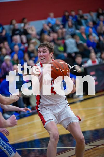 The Eagles fall to Krum at Argyle high school on 1-21-20 (Alex Daggett | The Talon News)